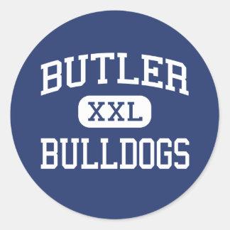 Butler - Bulldogs - Junior - Waukesha Wisconsin Round Sticker