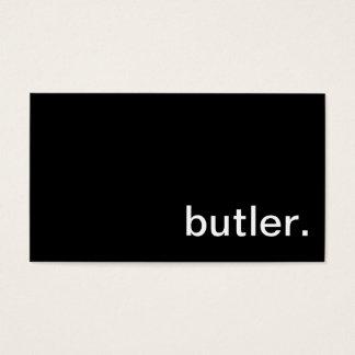 Butler Business Card