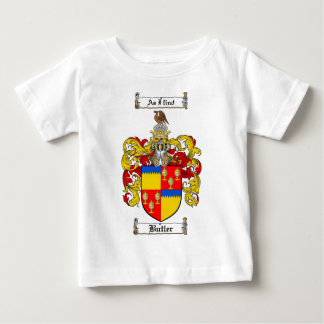 BUTLER FAMILY CREST -  BUTLER COAT OF ARMS BABY T-Shirt