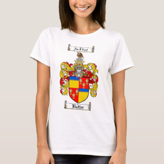BUTLER FAMILY CREST -  BUTLER COAT OF ARMS T-Shirt