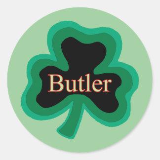Butler Family Round Sticker
