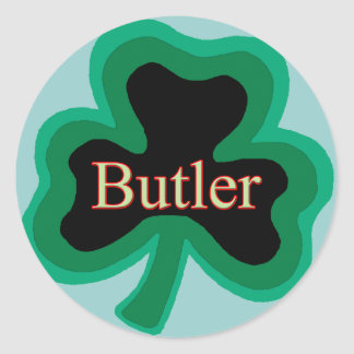 Butler Family Classic Round Sticker