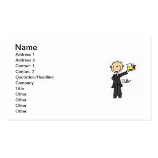 Butler Stick Figure Pack Of Standard Business Cards