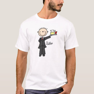 Butler Stick Figure T-Shirt