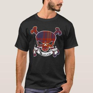 Butler Tartan Skull Shirt