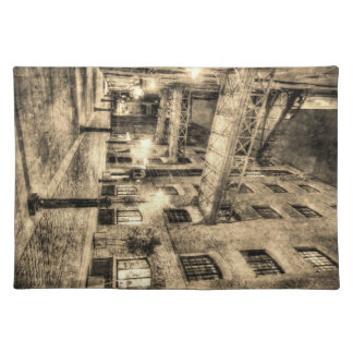 Butlers Wharf London Vintage Placemat