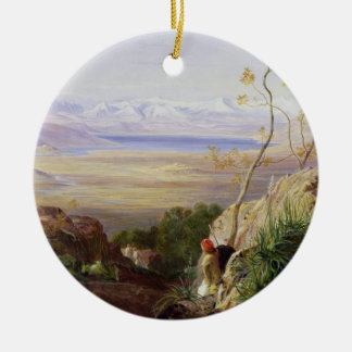 Butrinto, Albania (oil on canvas) Christmas Ornament