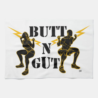 Butt N Gut Items Tea Towel