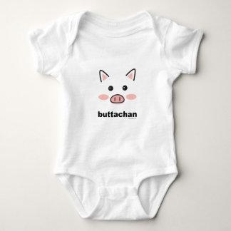 buttachan baby bodysuit