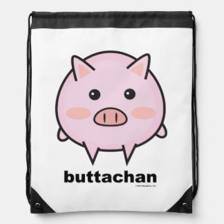 buttachan Drawstring Backpack