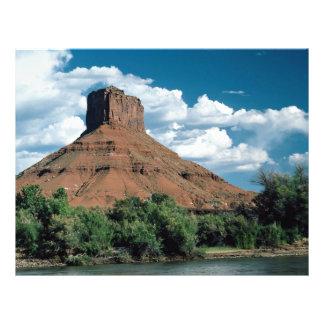 Butte Colorado River east central Utah U S A Custom Flyer