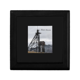Butte Gallows Frame Keepsake/Gift Box Small Square Gift Box