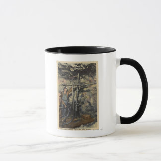 Butte, Montana - Underground Drilling in Copper Mug