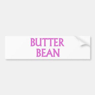 Butter Bean Bumper Sticker