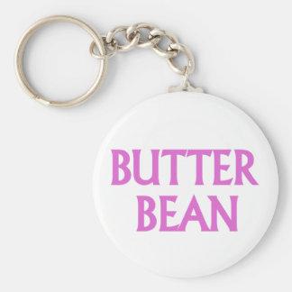 Butter Bean Key Ring