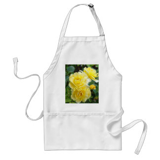 Butter Cream Roses Standard Apron