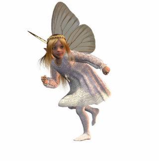 Butter Fairy run Standing Photo Sculpture