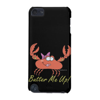 butter me up cute silly girl crab cartoon iPod touch (5th generation) covers