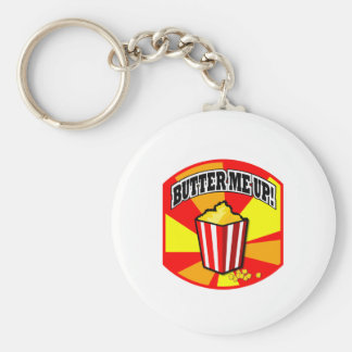 Butter Me Up! Key Ring
