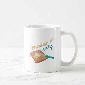 Butter Me Up Basic White Mug