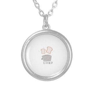Butter Me Up Round Pendant Necklace