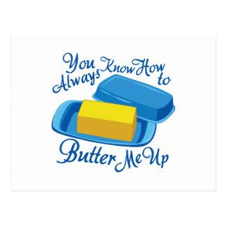 Butter Me Up Postcard