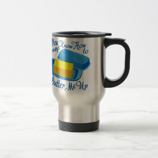 Butter Me Up Stainless Steel Travel Mug