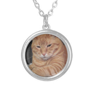 Butter Round Pendant Necklace