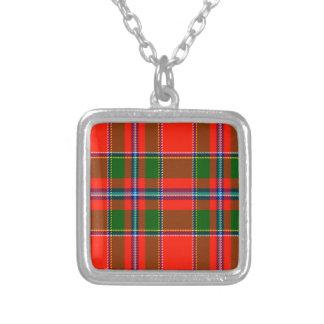 Butter Scottish Tartan Custom Necklace