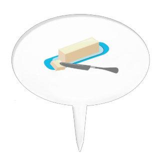 Butter Stick Cake Topper