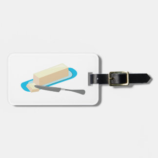 Butter Stick Luggage Tags