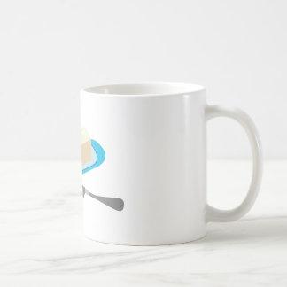 Butter Stick Basic White Mug