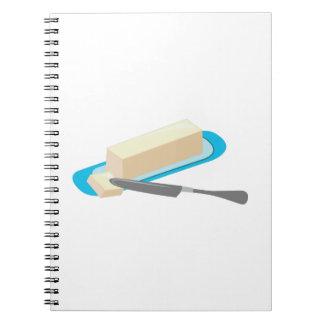 Butter Stick Spiral Notebook
