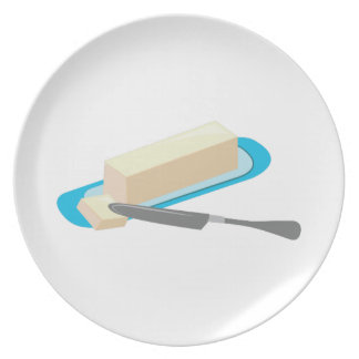 Butter Stick Party Plate