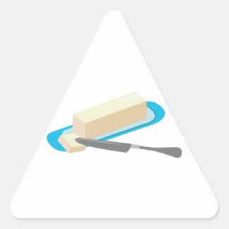 Butter Stick Triangle Sticker