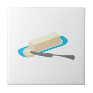 Butter Stick Small Square Tile