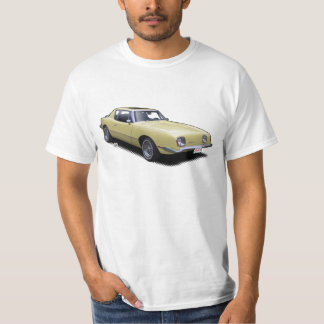 Butter Yellow AvanTee Classic American Car T-Shirt