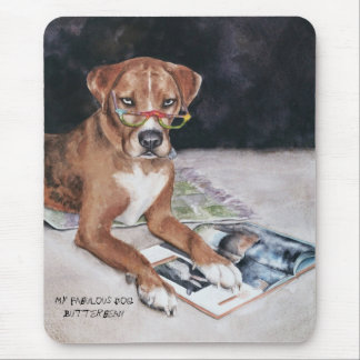 Butterbean  - Customized Mouse Pad