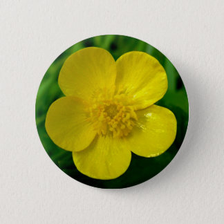 Buttercup 6 Cm Round Badge