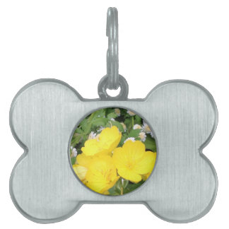 Buttercup and Babies Breath Pet ID Tags