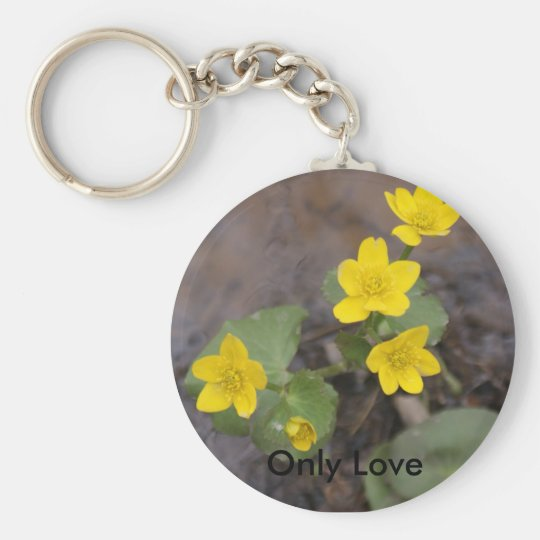 Buttercup Key Chain