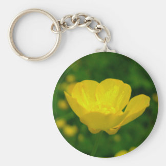 Buttercup Key Chains Yellow Wildflower Gifts