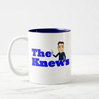 """ButterCup"" Knews coffee mug! Two-Tone Mug"