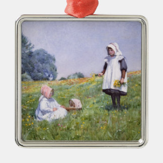 Buttercups and Daisies Christmas Ornament