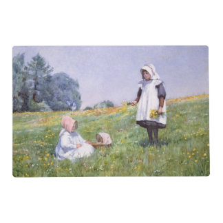 Buttercups and Daisies Laminated Place Mat