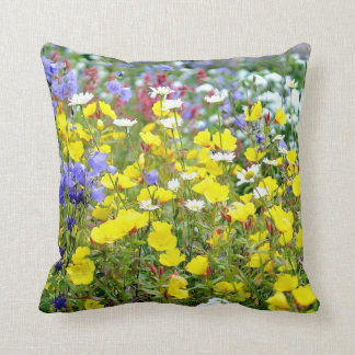 Buttercups and other Wildflowers Cushion