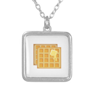 Buttered Waffles Custom Necklace