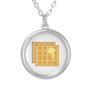 Buttered Waffles Necklaces
