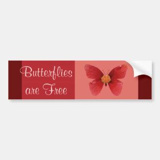 Butterflie sare Free Bumper Sticker