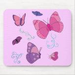 Butterflies 2 mousepad
